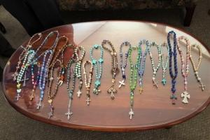 Prayer Bead Workshop Beads  2 24 2019