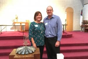 New Members Joan & Eric Clark