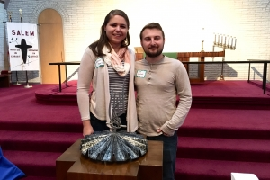 New Members Nicole Barclay & Seith Gierhart