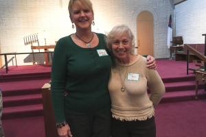 New Members Helena Sivits & Barbara Koch