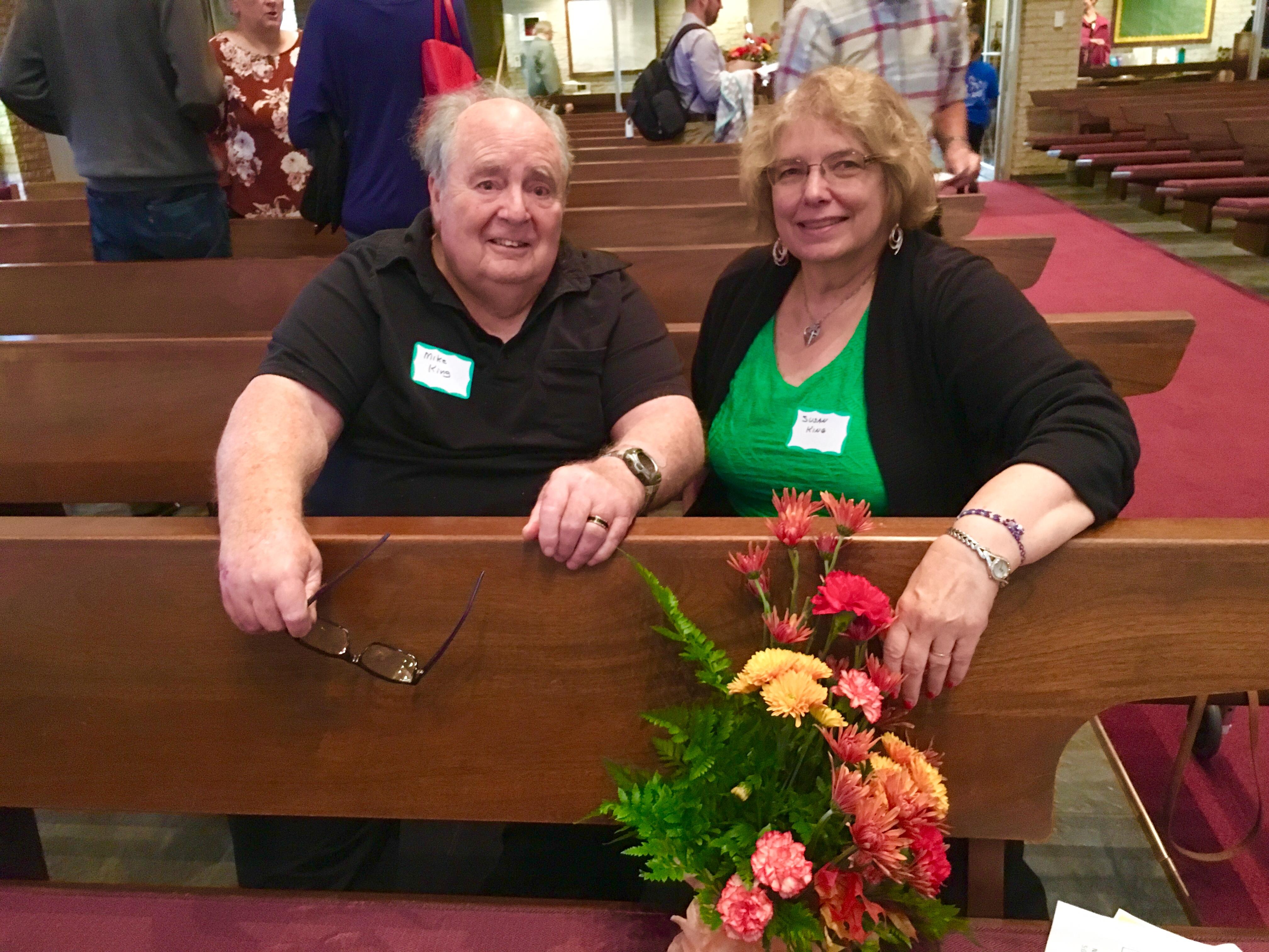 New Members Mike & Susan King