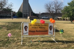 Carla and Ron Vanatta's Retirement Drive Through