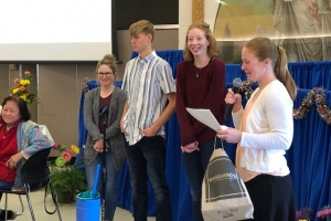 GRACE service in fellowship Hall and End-of-Year Celebration