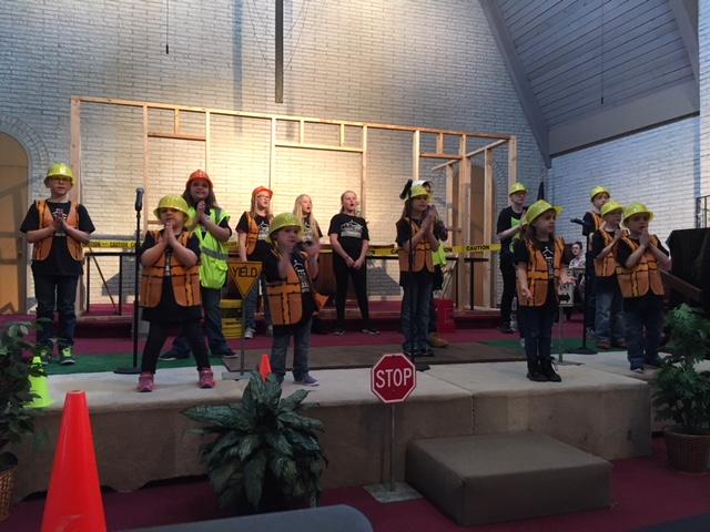 Kidz Under Construction Children's Musical
