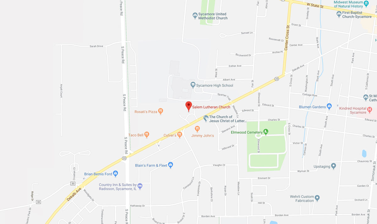 Link to Salem Lutheran Church in Google Maps
