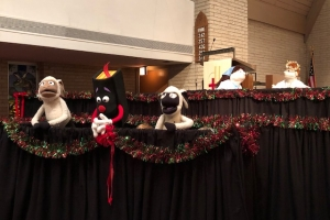 advent puppets