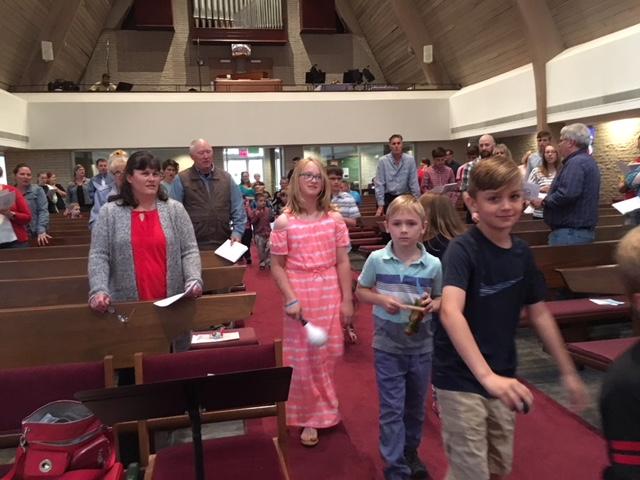 Closing song procession Pentecost Sunday