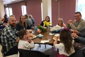 Picnic lunch Pentecost Sunday